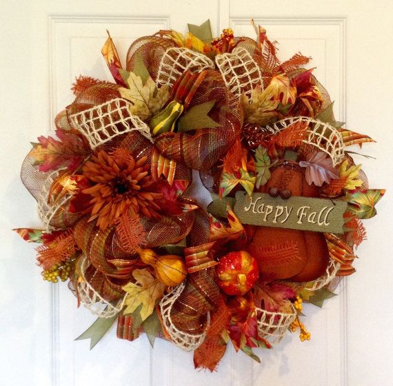 474 Best Wreaths For All Seasons Images On Pinterest