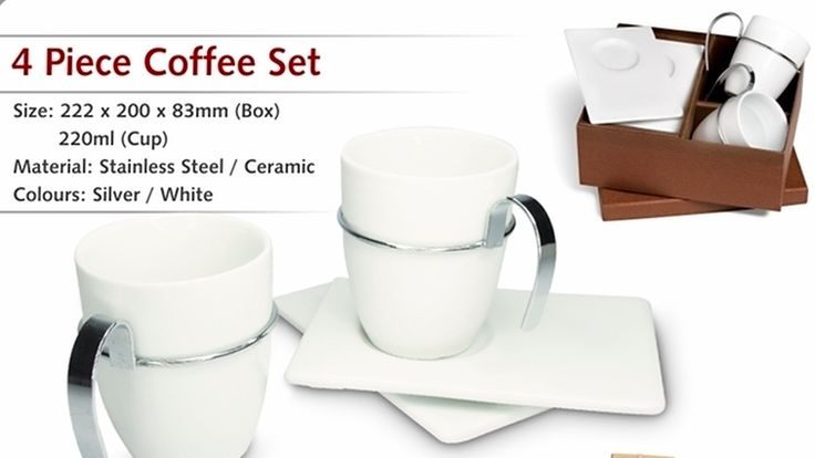4 Piece Coffee Set - R99