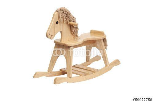 Spielzeug. Holz. Pferd.