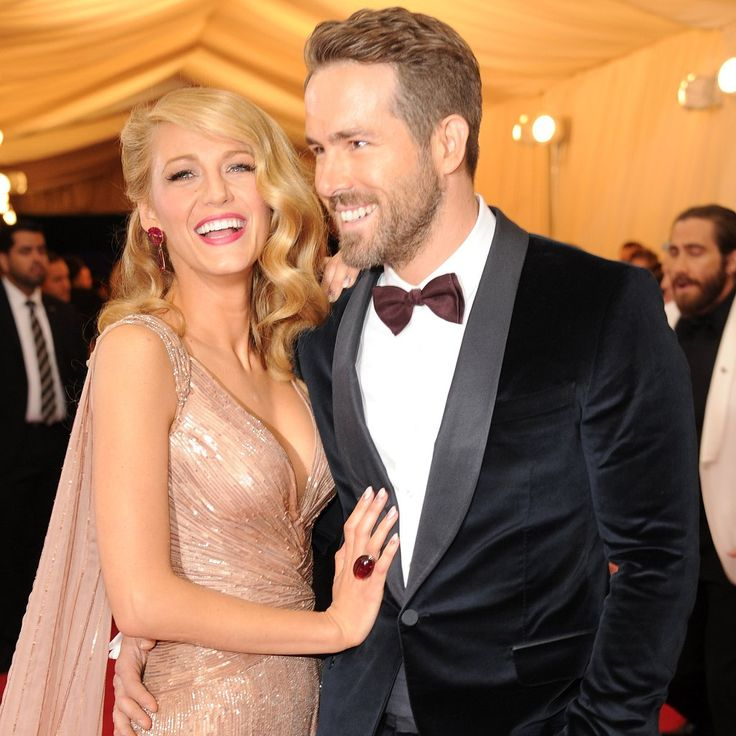 Blake Lively and Ryan Reynolds Win Cutest Couple at the Met Gala: Blake Lively and Ryan Reynolds looked like quite the golden couple when they arrived at the 2014 Met Gala on Monday night in NYC.
