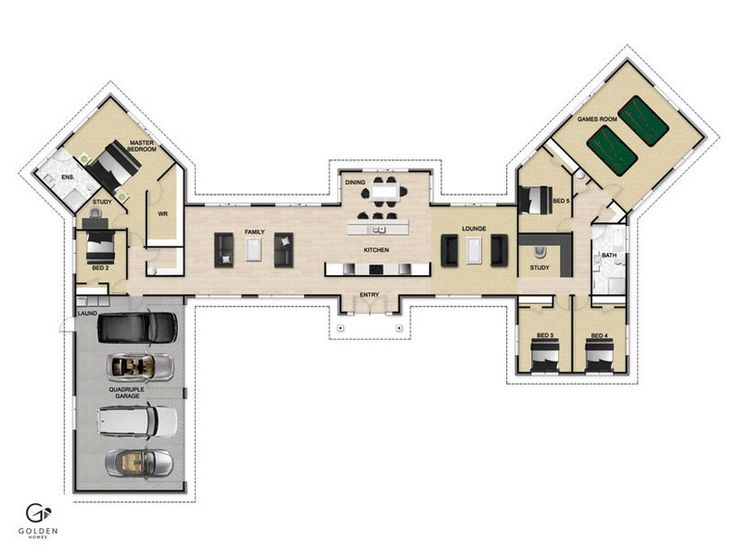 Mono 388 Floorplan #GoldenHomes