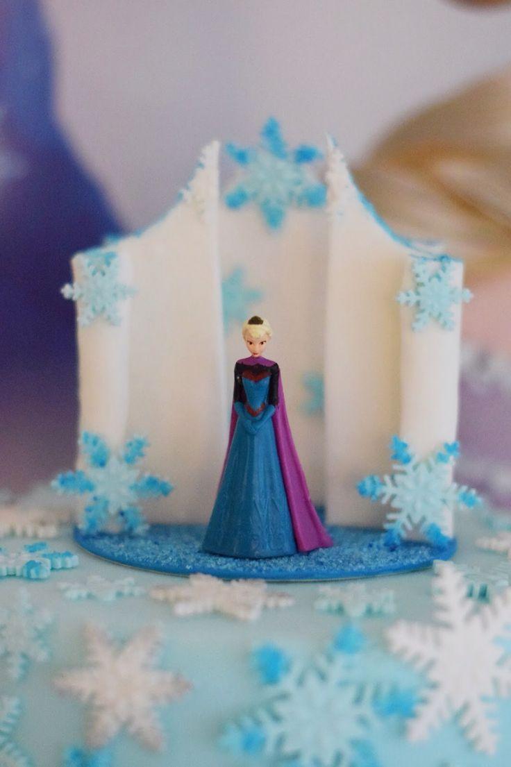 Frozen caketopper Elsa