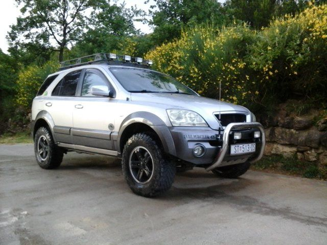 Kia Sorento Off Road Kit Kia Sorento 2 5 Crdi Ex Off