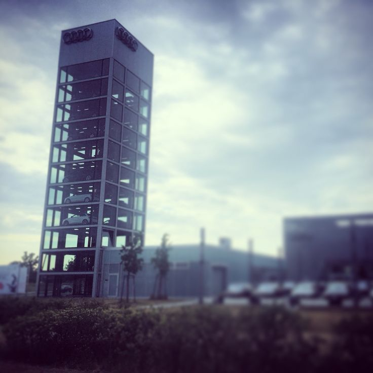 Audi Tower  #myknips #berlin #adlershof #audizentrum