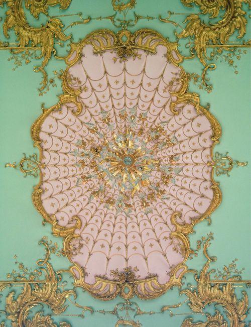 Rococo ceiling detail, Schloss Charlottenburg