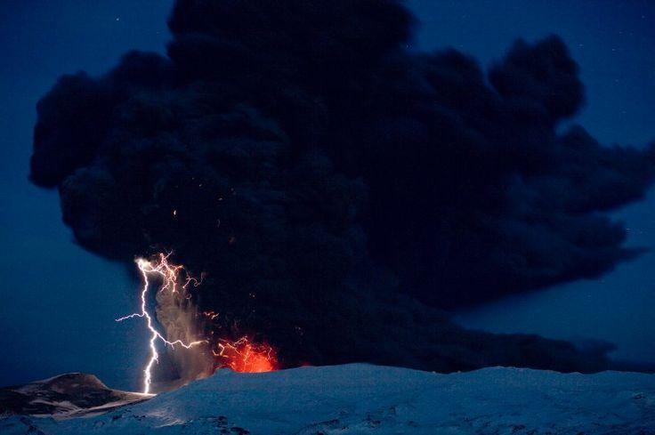 Eyjafjallajokull-Vulkan: Vermutlich gelangten auch beim Ausbruch des...