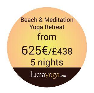 beach and meditation yoga retreat spain price