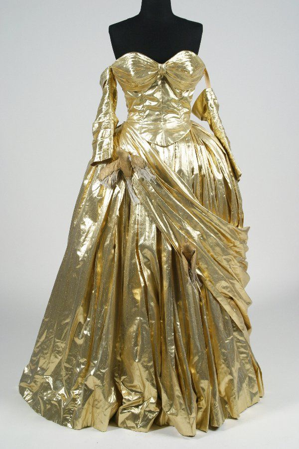 Edith Head 18th Century Style Costume Worn by Grace Kelly in the masquerade ball scene of To Catch a Thief