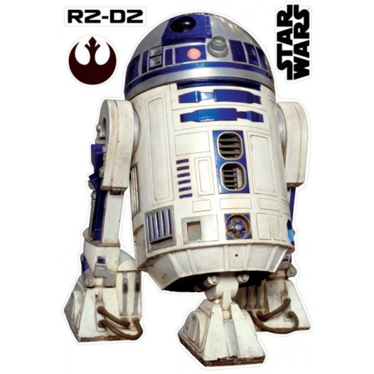 Disney - Star Wars Wallies Väggdekaler R2D2