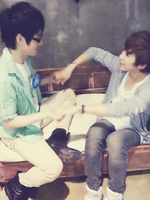 100%, minwoo and rockhyun