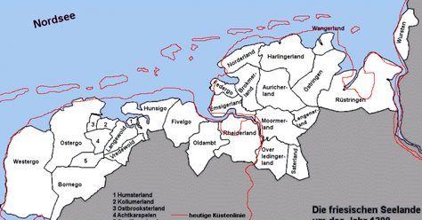 Friesland in de 14e eeuw