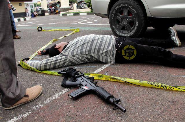 Tewas Disergap Polisi Setelah Kontak Senjata