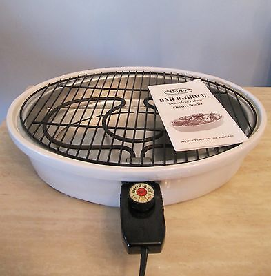 Superior DAZEY Indoor/Outdoor Electric BBQ Bar-B-Grill Smokeless Broiler / Grill