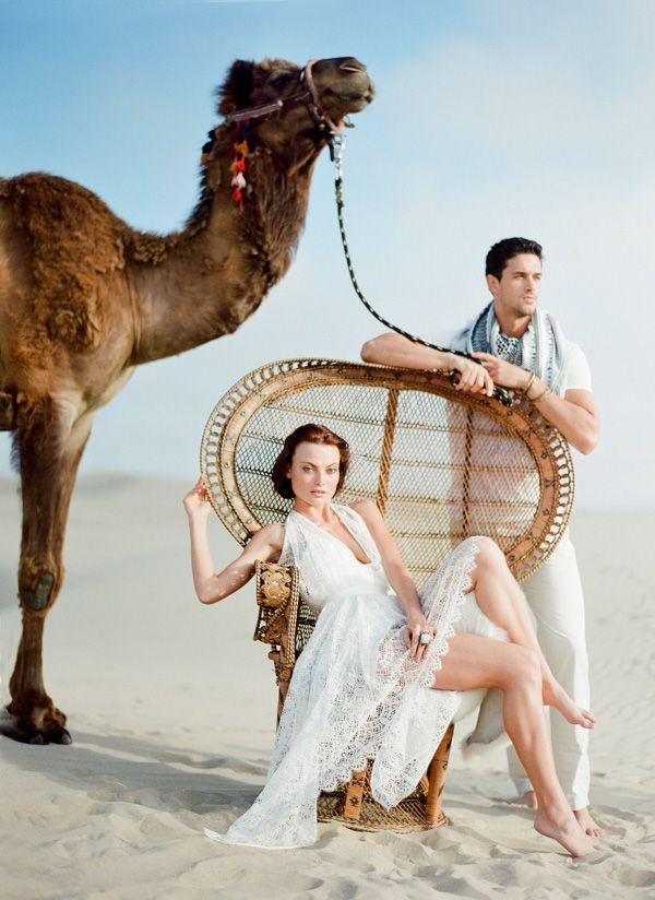 Onde posso alugar um camelo? tem algum kit que vem com este Homem (lindo) junto?