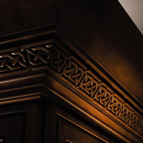 Celtic moulding schrock menards product decorative for Decorative millwork accents