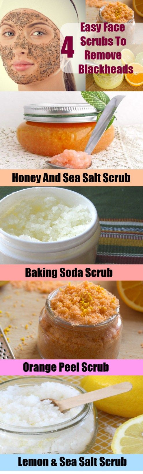 4 Easy Face Scrubs To Remove Blackheads