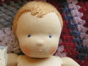 Sonia – szmaciana lalka niemowlaczek 4 kg « Lalinda