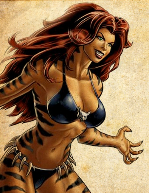 17 Best images about Marvel - Tigra on Pinterest | Marvel ...