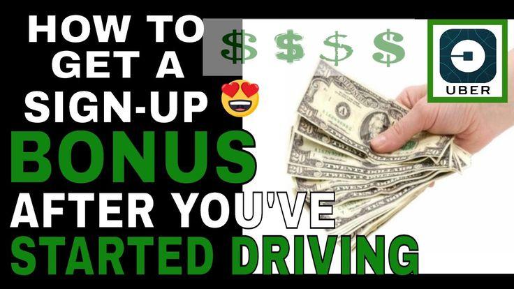 Uber Retroactive Referral-Get Your Uber Driver Sign-Up Bonus After You'v...