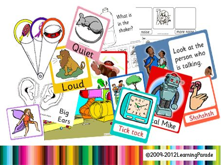 Letters and Sounds Phase 1 Activities