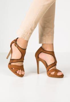 SUITEBLANCO - Sandaler med høye hæler - brown