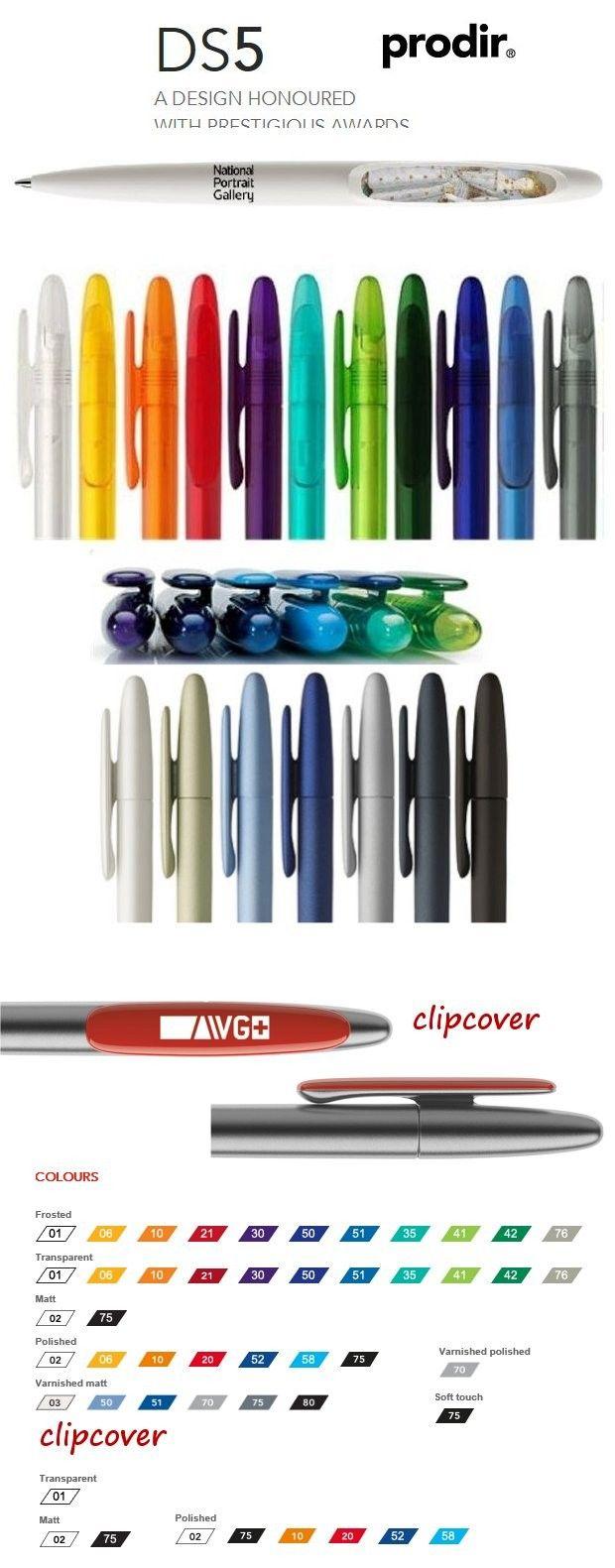 DS5 Prodir pennen, mooie Zwitsers design