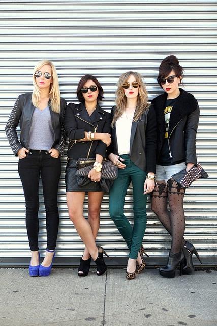 these are some rockin' chicks ;) @BrooklynBlonde @mystylepill @keikolynn #Friends #NYC