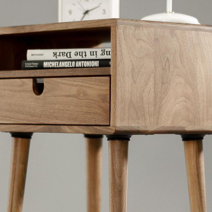 Nachttisch Walnuss die besten 25 walnut bedside table ideen auf moderner