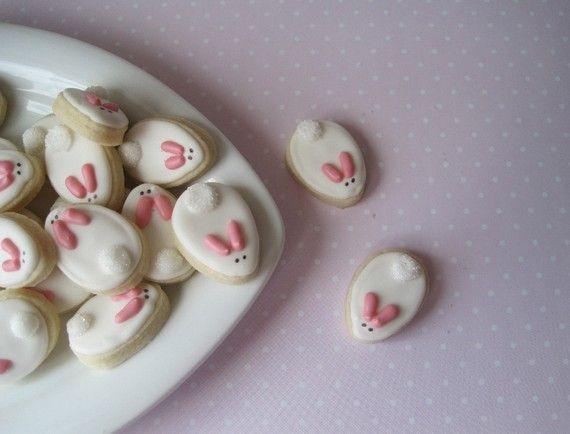Ciasteczka wielkanocne: Sugar Cookies, Cookies Design, Decor Cookies, Baby Bunnies, Easter Bunnies, Easter Eggs, Cookies Cutters, Bunnies Cookies, Easter Cookies