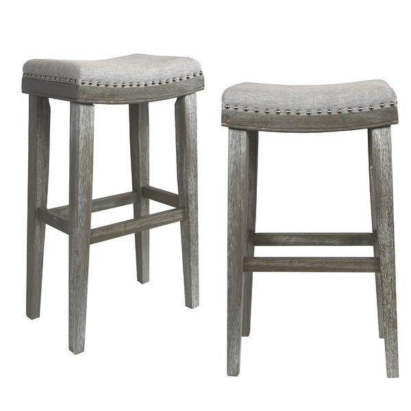 Beautifully Designed Barstool Solid Wood Made From Asian Rubber