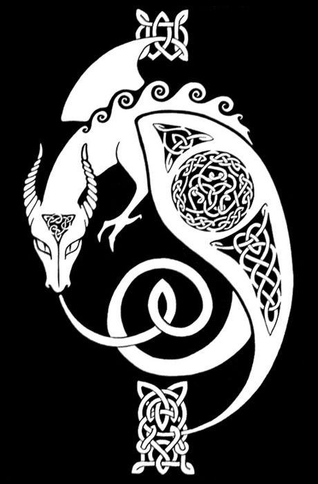 Celtic dragon - Para que alguien se lo tatúe porque está muy lindo :3