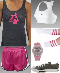I can't resist a coordinated crossfit outfit!