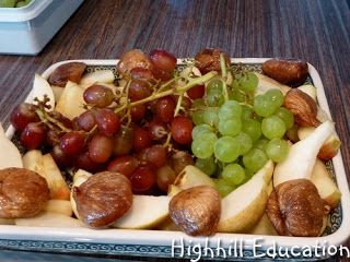 Highhill Homeschool: Roman Food and Feast