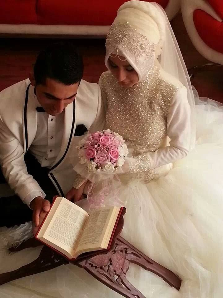 Turkish bride and groom ☪