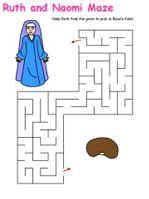 Ruth and Naomi maze