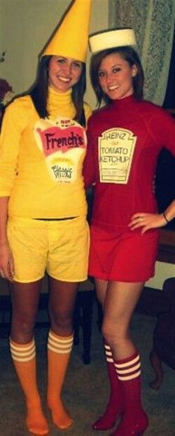 ketchup and mustard costumes  sc 1 st  Pinterest & The 13 best Awesome BFF costumes Ideas! images on Pinterest | Bff ...