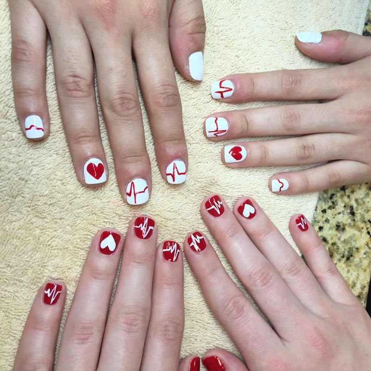 Our Graduation Nails Nursing Ekg