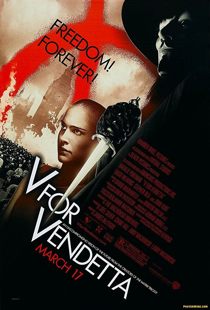 V For Vendetta (2005) BDRip XviD Türkçe Dublaj Full Torrent İndir