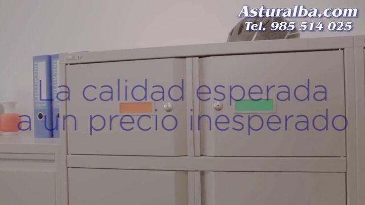 """Os presentamos la nueva gama de armarios metálicos Essentials de Bisley para archivo en oficinas. """"La calidad esperada a un precio inesperado"""" Descúbrela en ..."""