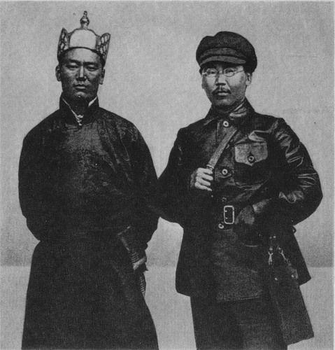 D. Sukhbaatar e MI Amga. Urga, 05 de junho de 1922.