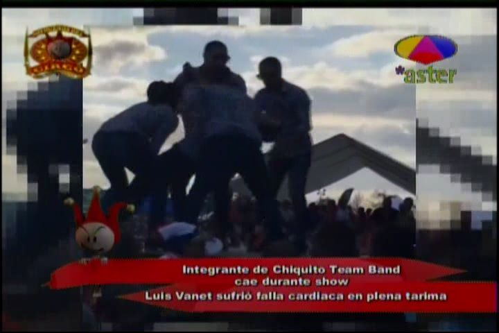 Integrante De Chiquito Team Band Sufre Falla Cardiaca En Plena Tarima #Video