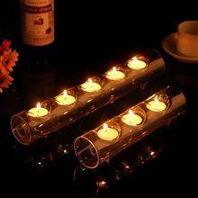 Европейский три - отверстие соединены свечи ужин при свечах романтический пара свадьба реквизит подсвечник стекло(China (Mainland))
