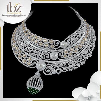 Tbz # diamond jewellery # new launch # bridal # heavy