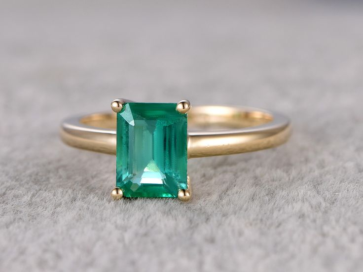 77 best Emerald Engagement rings images on Pinterest