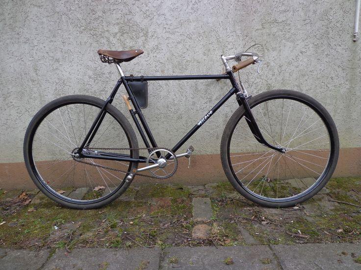 Halbrenner Move Fahrrad Altes Fahrrad Oldtimer Fahrrad Fahrrad