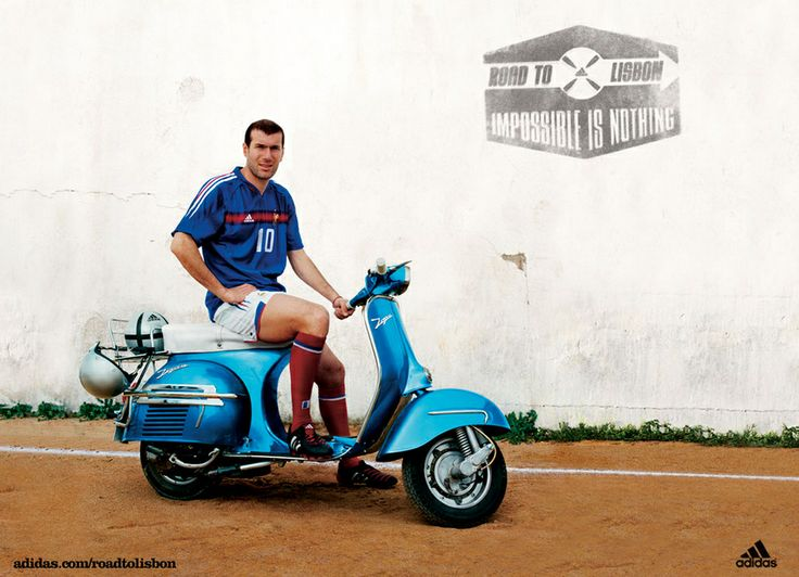 adidas vespa advert