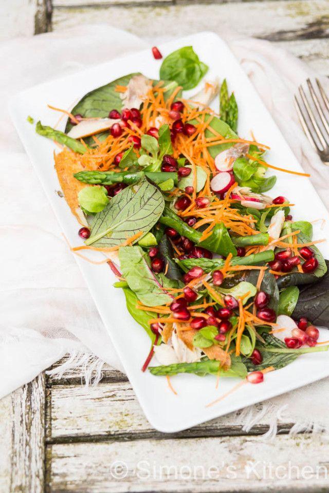 Salade met gerookte makreel | simoneskitchen.nl