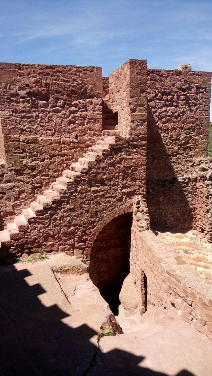 Castillo de peracense, Teruel, España