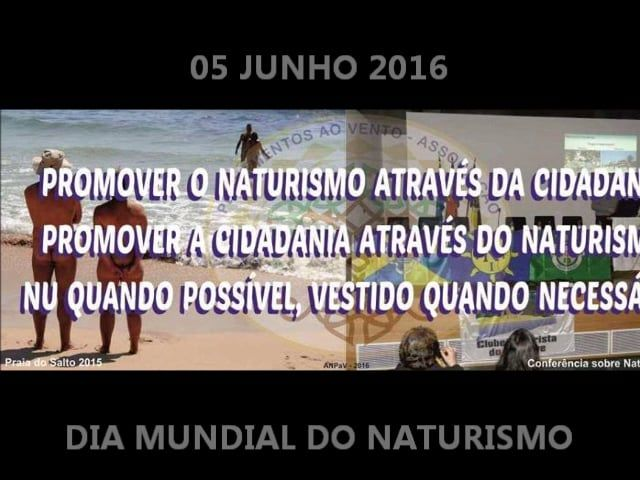 05 de junho Dia Mundial do Naturismo