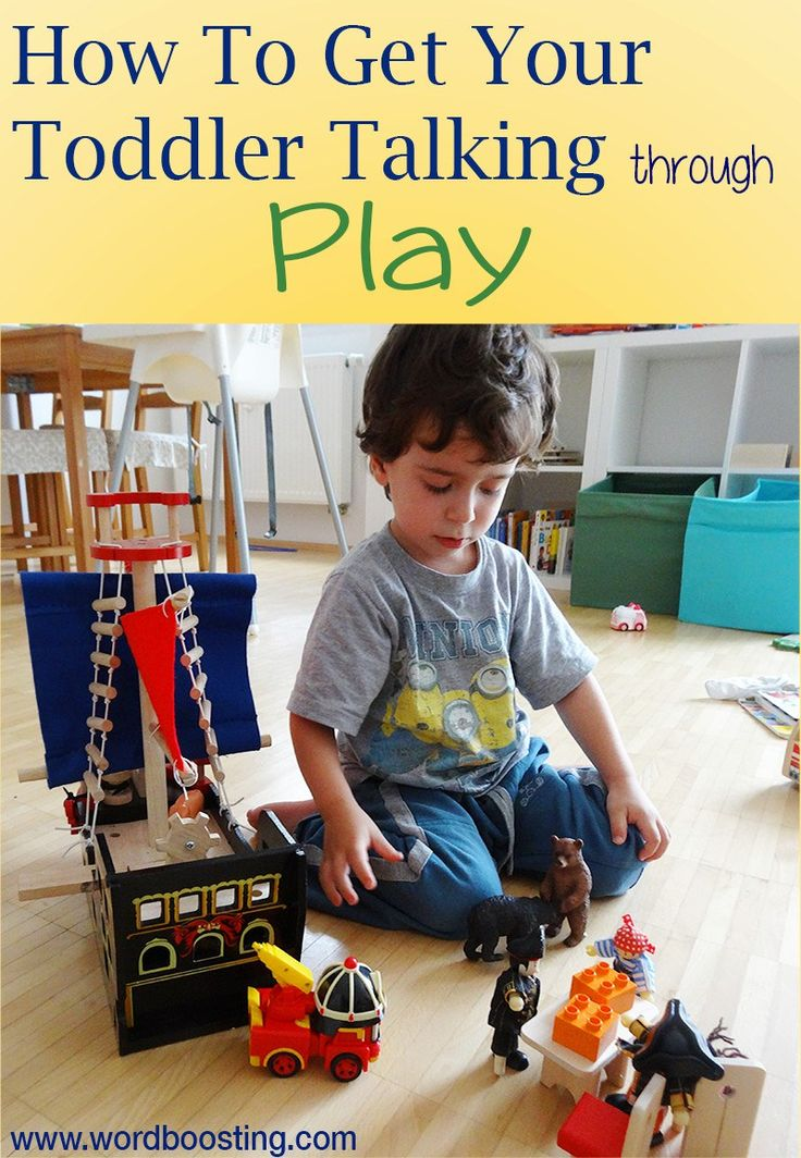 Play can do AMAZING things for toddler language development: here's how.